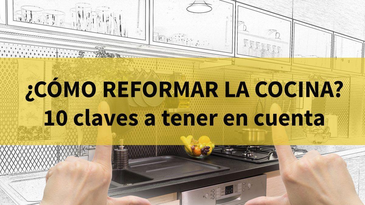 Como reformar la cocina