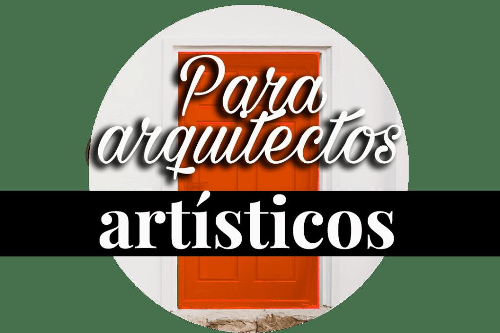 trabajo de arquitecto y artista