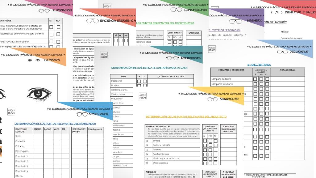 checklist para diseñar tu casa