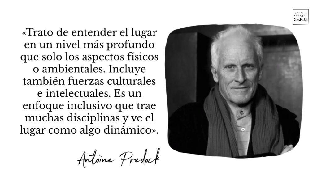 Cita de Antoine Predock arquitecto