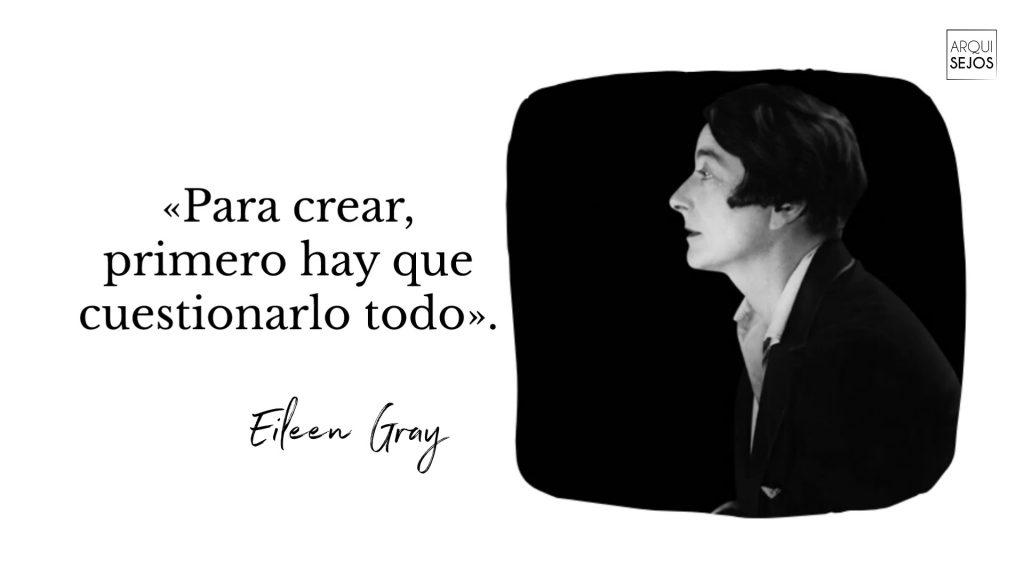 Mejores frases de arquitecto Eileen Gray