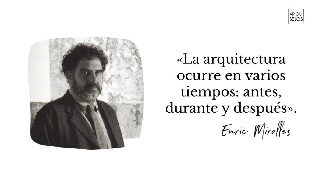 EnricMiralles arquitecto