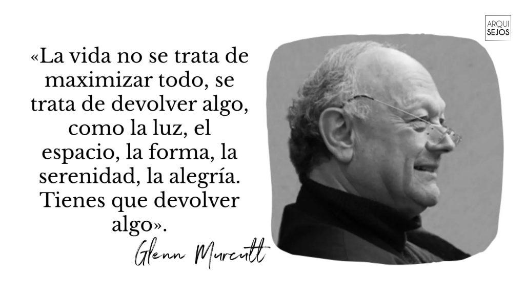 Palabras de Glenn Murcutt
