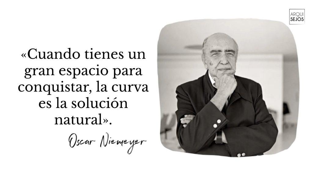 Palabras del arquitecto Oscar Niemeyer