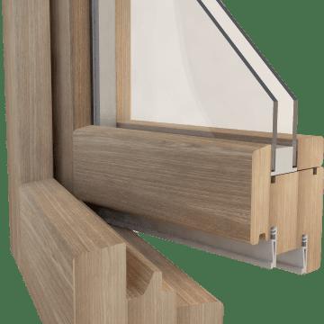 Escoger ventanas de madera