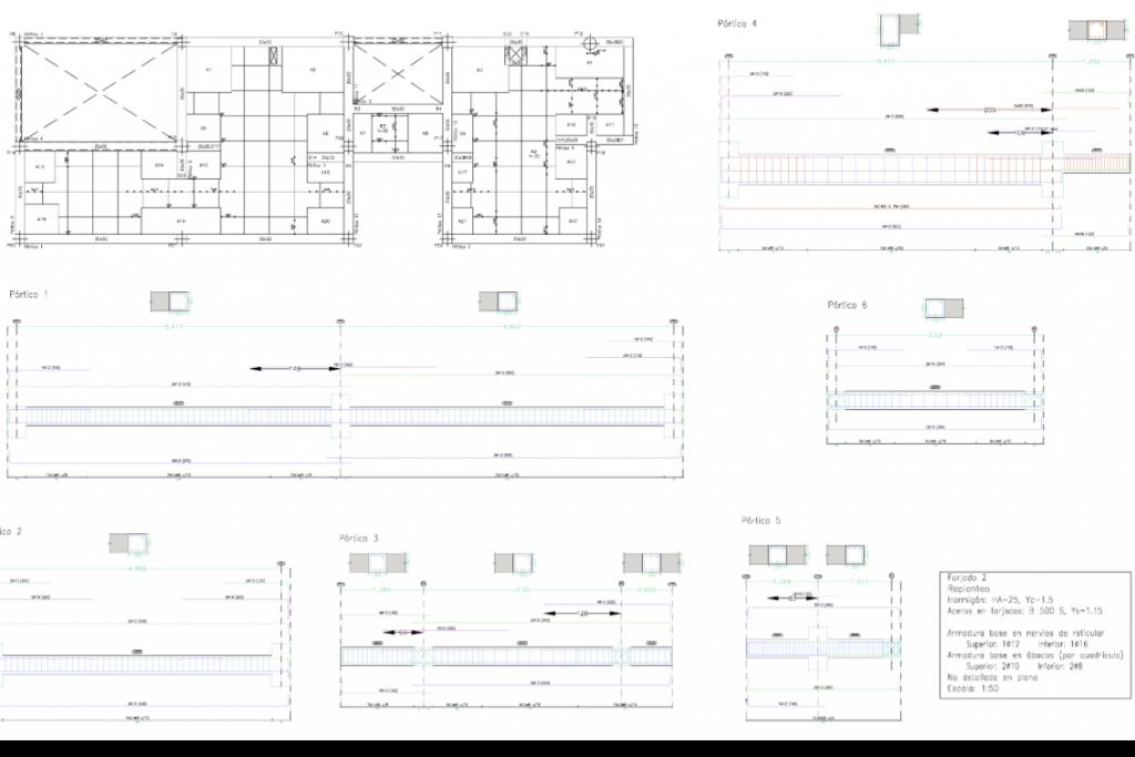planos de estructura