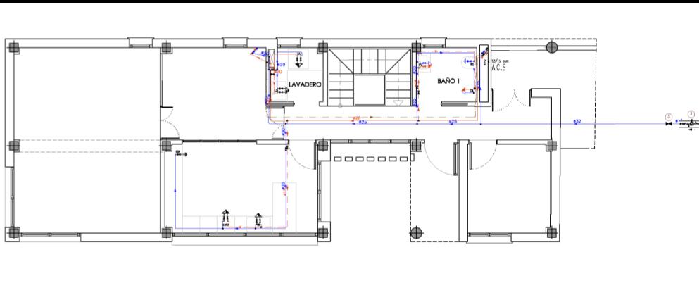 planos de fontanería