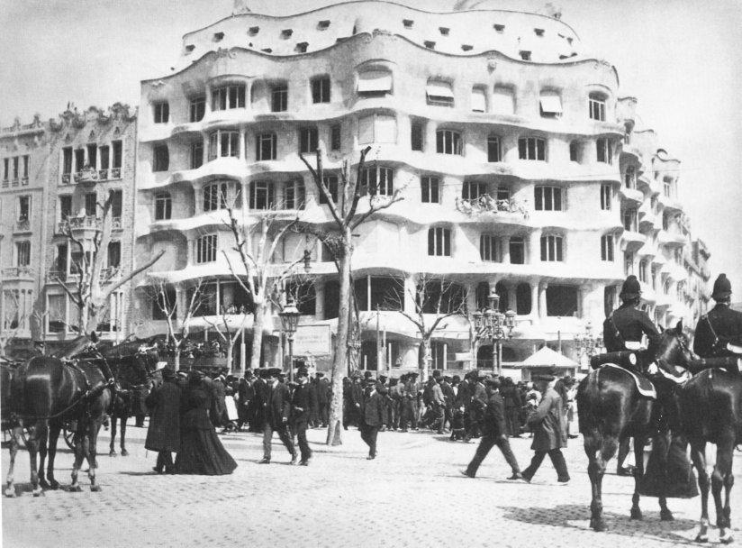 La pedrera Antonio Gaudi